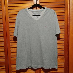 Tommy Hilfiger V-neck T-shirt  with box print